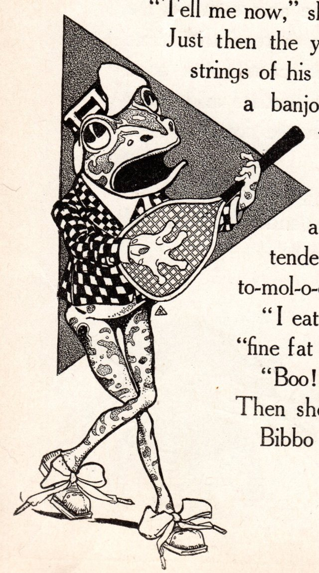 Let Us Contemplate the Sadness of a Banjo-Playing Frog | VoVatia
